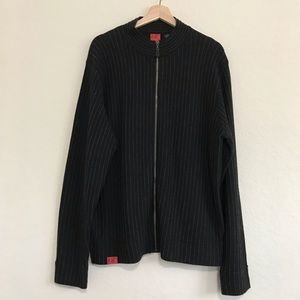 Polo Jean Co Men's Zip up Sweater Size Large